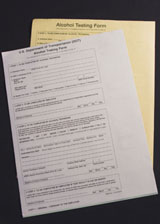 DOT BREATH ALCOHOL TESTING FORMS (100) OMB#2105-0529 - B02